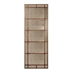"Uttermost - Uttermost 13332 P Avidan Antiqued Rustic Bronze Mirror - 79"" Length - Heavily Antiqued Rustic Bronze Finish"