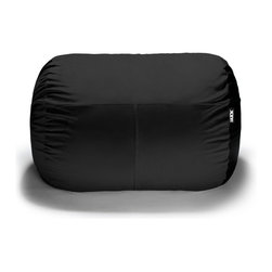 Jaxx Bean Bags - Jaxx 5.5 Foot Bean Bag Lounger - The Lounger 5.5 Ft Bean Bag is the cure for the common loveseat. Think outside of the couch with the Lounger. Cozy up and watch TV or lay out with a good book; there is room for both!