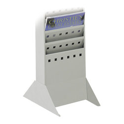 Safco - Safco Steel Base - Safco - Magazine Racks - 4323GR -Steel magazine rack base for use with Safco magazine racks. Increase rack location placement with a steel base. Use the base to stand magazine racks on the floor.