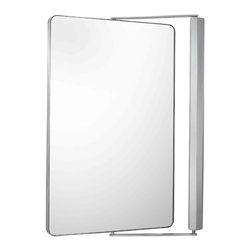 Kimball & Young Aptations Sergena 330 Series Metro Pivot Mirror 33041 - Magnetic and can be used with item 331x5 (optional)