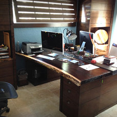 Contemporary Home Office by T2THES DESIGN + BUILD