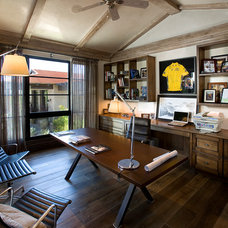 traditional home office by Tom Archer Custom Homes & Design, LLC