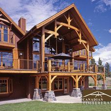 Craftsman Deck by Canadian Timberframes Ltd