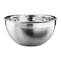 "Rosle - Rosle Medium Bowl 6.87 qt. - Decorative bowls for serving at table as well as for preparation and storage of foodstuffs. Pouring rim to facilitate Pouring of liquids. Capacity: 6.87 qt. Dimensions: 11.0"" (28.0 cm) . 5-year warranty."