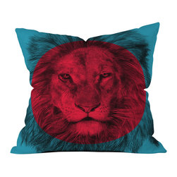 Garima Dhawan Wild 5 Outdoor Throw Pillow - Do you hear that noise? it's your outdoor area begging for a facelift and what better way to turn up the chic than with our outdoor throw pillow collection? Made from water and mildew proof woven polyester, our indoor/outdoor throw pillow is the perfect way to add some vibrance and character to your boring outdoor furniture while giving the rain a run for its money.