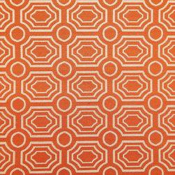Bradstreet Tangelo Fabric - Pattern: Bradstreet