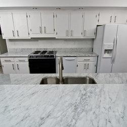 White Carrara Marble - White Carrara Marble