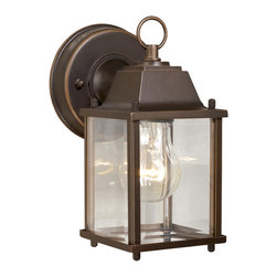 "Vaxcel - Vaxcel OW3063BBZ Millard 5"" Outdoor Wall Light Burnished Bronze - Vaxcel OW3063BBZ Millard 5"" Outdoor Wall Light Burnished Bronze"
