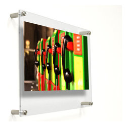 Wexel Art - 1419D Double Panel Acrylic Wall Frame 14x19 - NOTE: Photos not included.