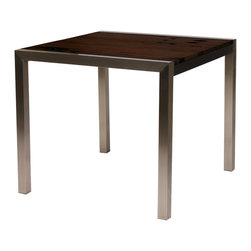 Remuera Square Dining Table - LDK. 34w x 34d x 30h. Available for order at Warehouse 74.
