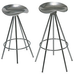 contemporary bar stools and counter stools by Knoll