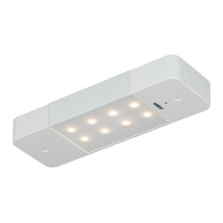 "Vaxcel - Smart Lighting 8"" LED Motion Under Cabinet Light White with Frosted Diffuser - Smart Lighting 8"" LED Motion Under Cabinet Light White with Frosted Diffuser"