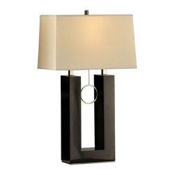 Nova Lighting - Nova Lighting 10494 Earring Standing Table Lamp - Nova Lighting 10494 Earring Standing Table Lamp