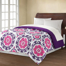 Mainstays Suzani Printed Bedding Comforter - Check out this comforter for under $25! Some of you have dorm rooms that would look great with this on your beds.