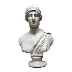 Casa de Arti - Athena Greek Goddess Bust Statue Sculpture God Art Figure - Amazing bust of the Greek Goddess Athena, perfect for your office or home decor at an incredible price!
