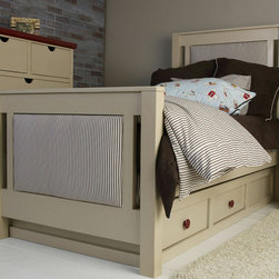 Newport Cottages - Platform Bed with Drawers - Platform Bed with Drawers