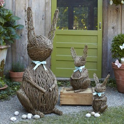 Vine Bunnies - Peter Rabbit is visiting!
