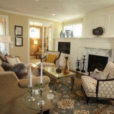 Living Room by Interiors By Holly