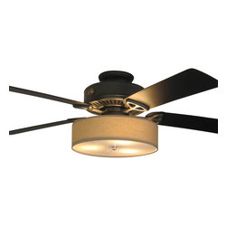 Shop Drum Ceiling Fan Light Kit Ceiling Fans on Houzz