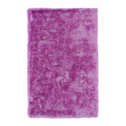 Kaleen - Kaleen Posh Collection PSH01-90 2' x 3' Lilac - Posh is the perfect rug to make your feet say ooh and ahhh!! Super plush and silky to the touch, this hot new shag rug is exactly what your room has been asking for! Find the perfect spot to curl up on after a long day or bring in your favorite pop of color for a complete room makeover. The Posh collection allows for diversity and fashionable style for all of your decorating needs with over 20 colors to choose from. Each rug is handmade in China of the finest 100% polyester.