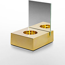 Contemporary Candleholders by Calvin Klein