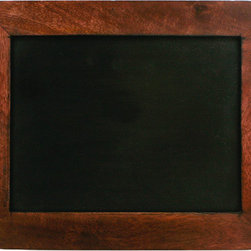 Writing Slate - Grab some chalk and jot down your menu for the week with this antique reproduction writing slate. The look takes you back to a time when schools used them because paper was so expensive.
