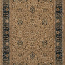 """Karastan - Karastan Original Karastan 700-00728 (Persian Garden) 5'9"""" x 9' Rug - Inspired by prized museum pieces and antiques, the Original Karastan Collection of rugs is recreated from Persian, Turkoman, and other handwoven orientals while maintaining authenticity to the finest detail. Each rug is Axminster woven through-the-back of the finest imported skein-dyed and lustre washed worsted wool yarns. Empress Kirman is part of the Original Karastan collection."""
