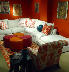 asian sectional sofas by Norwalk Furniture - Norwalk