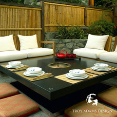 asian  Modern Outdoors | Trendir - bamboo fence