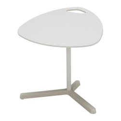 Karl Malmvall - Dave Laptop Table, White - This simple laptop desk may be white and boring, but some fun contact paper will spruce things up in a jiff.