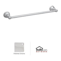 "Rohl - Rohl CIS1/24APC Polished Chrome Cisal Cisal 24"" Towel Bar - Cisal 24"" Towel BarRohl's Cisal Classic collection of bathroom faucets and fixtures features traditional design elements meant to create a focal point. This family is manufactured in the Italian town of Alzo, which was once renowned for making bronze church bells. Today, Alzo is widely regarded as the ""Village of the Faucets,"" and Rohl's Cisal Classic collection employs bell-shaped bases of the spout handles as a tribute to the town's history. This family features a wide range of bathroom faucets, like single and double handle, as well as single hole, centerset, and widespread configurations. These products feature brass construction and are available in five finish options.Rohl CIS1/24 Features:All brass construction – weight: 2.25 lbs.Superior finishing process – chemical, scratch, and stain resistantTowel bar length: 24""Easy to clean and installExtra secure mounting assemblyAll mounting hardware includedComplements: Cisal Bath, Verona, and AllesandriaFully covered under Rohl's limited lifetime warrantyManufactured in New Zealand, Western Europe, and/or North AmericaAbout Rohl:Excellence, durability, and beauty. Family values, integrity, and innovation. These are all terms which aptly describe Rohl and its remarkable selection of kitchen and bathroom faucets and fixtures. Since 1983, Rohl has maintained a commitment to providing high-quality plumbing products for residential and commercial applications, while assuring these fixtures would make a difference in the overall décor in the living space. With a dedication to excellence throughout the home, Rohl has been satisfying homes, schools, hospitality venues, and restaurants all around the world. Rohl specializes in providing timeless designs for every type of theme, including traditional, transitional, and modern. When Rohl suggests its products reflect the feel of a certain area"