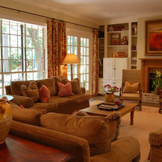 Traditional Family Room by K Two Designs, Inc.