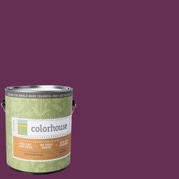 Inspired Flat Interior Paint, Petal .07, Gallon - Colorhouse paints are zero VOC, low-odor, Green Wise Gold certified and have superior coverage and durability. Our artist-crafted colors are designed to be easy backdrops for living. Colorhouse paints are 100% acrylic with no VOCs (volatile organic compounds), no toxic fumes/HAPs-free, no reproductive toxins, and no chemical solvents.