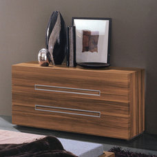modern dressers chests and bedroom armoires Gap 3 Drawer Dresser By Rossetto