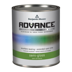 Advance® Waterborne Interior Alkyd - Advance features the newest technology in alkyd coating, delivering a hard durable finish that cleans up with soap and water.