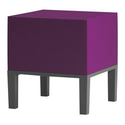 Quinze and Milan - Quinze and Milan Primary Pouf 01 Stool, Purple - Stripped to the essence, PRIMARY is the first comprehensive Quinze + Milan collection and a line that deserves to be called a Quinze + Milan classic. PRIMARY kicked off the use of QM FOAM, a proprietary material developed and produced by Quinze + Milan.