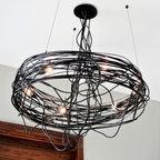 Ridgely Studio Works | Spiral Nest Chandelier -