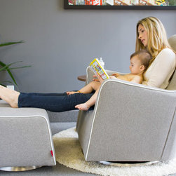 Grazia Swivel Glider - Our roomiest glider yet!