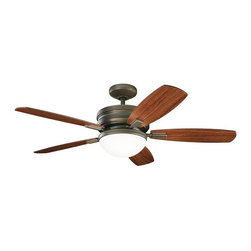 "Kichler Lighting - KICHLER FANS 300138OLZ Carlson 52"" Contemporary Ceiling Fan - DECORATIVE FANS 300138OLZ Carlson 52"" Contemporary Ceiling Fan"