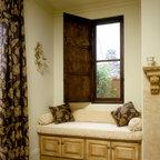 Wood Window w/ Interior Shutter -