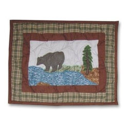 Patch Magic - Nature's Splendor Crib Toss Pillow - 16 in. W x 12 in. LHandmade, Hand quilted Crib Toss Pillow made from 100% Cotton. Machine washable, but for best care hand wash in cold water. Do not machine dry. Do not dry clean.