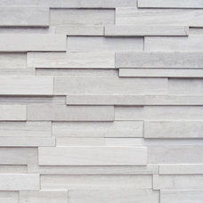 Contemporary Siding And Stone Veneer stone that looks like wood