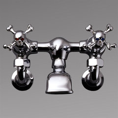 eclectic bathroom faucets by Stephen Einhorn