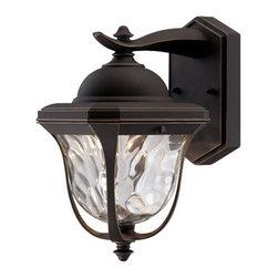 "Designer Fountain - Marquette 8 1/2"" LED Wall Lantern - 8.5 inches Wall Lantern"