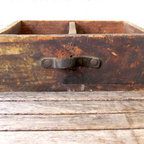 Antique Wooden Box - La Roux Vintage