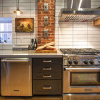 white shaker style kitchen - Contemporary - Kitchen Cabinetry - other metro - by Foshan Yubang ...