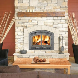 Napoleon High Country NZ3000 Series 42'' x 43'' Wood Burning Fireplace - Napoleon's EPA certified High Country™ – NZ3000 wood burning fireplace is the smaller version in the powerful High Country™ Series. The NZ3000 offers superior, heavy duty boiler plate steel and full refractory lined firebox with advanced EPA technology. The ultra high efficiencies allow for easily sustained overnight burns. Only Napoleon® provides wood burning fireplaces that have an elegant, rustic style and are built to these high quality standards.