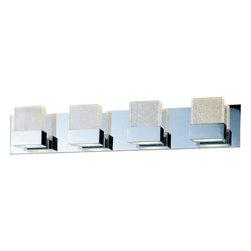 """ET2 - ET2 E22734-89 Fizz 29.5"""" Wide 4-Bulb Bathroom Light Fixture - Product Features:"""