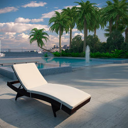 Pear Patio Chaise Lounge -