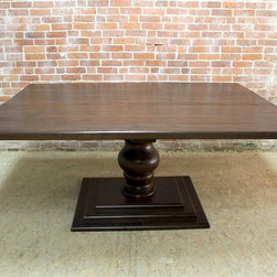 60 Reclaimed Wood Square Dining Tables -